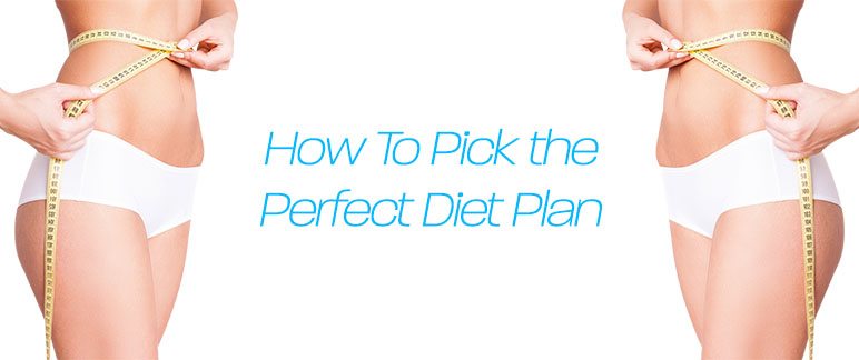 How to Pick the Diet Plan That's Right for You