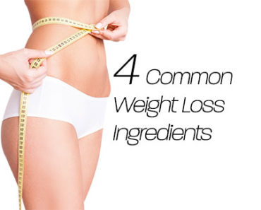 Common Weight Loss supplement Ingredients